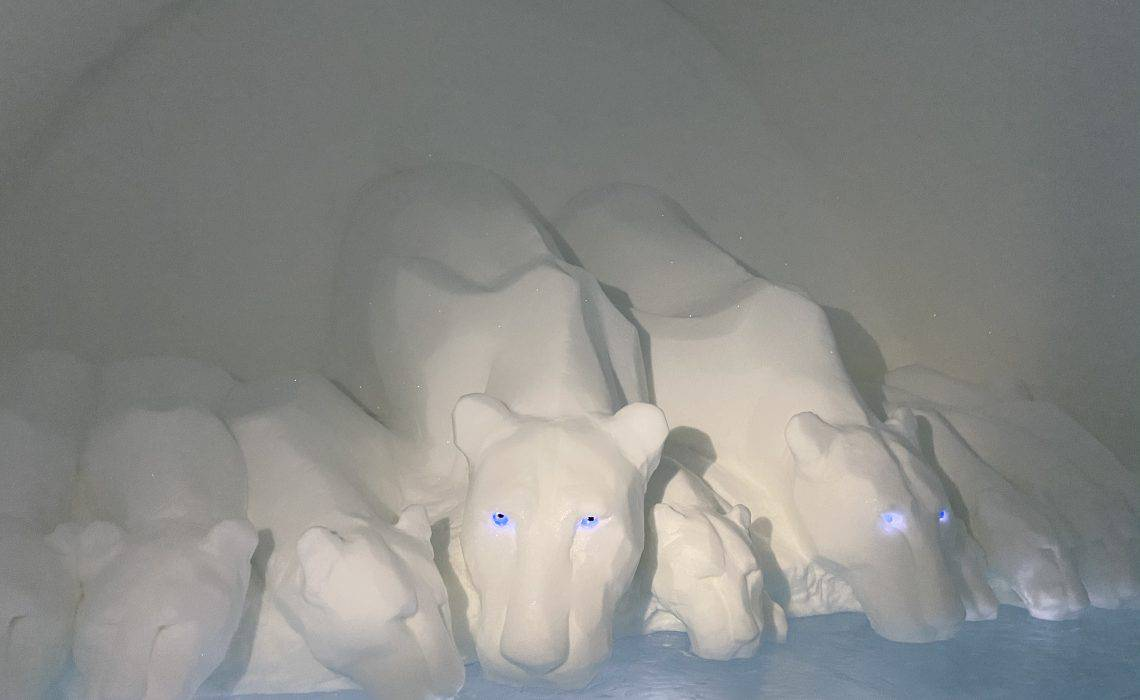 Scultura dell'icehotel
