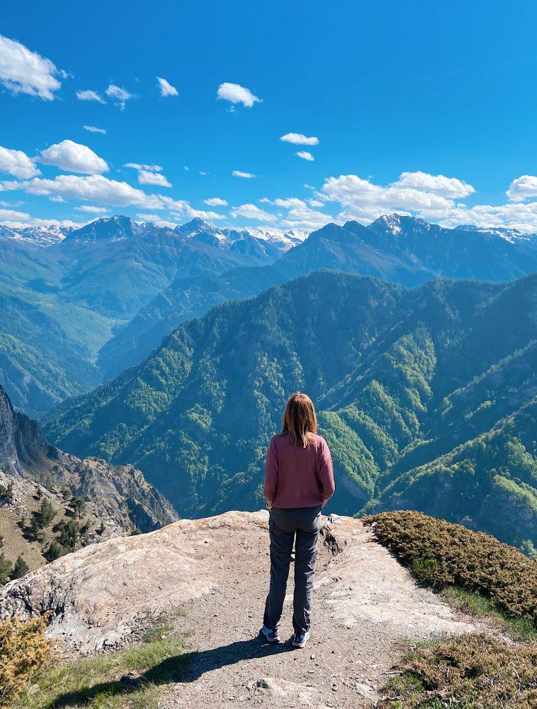 Montagne viste da Elva