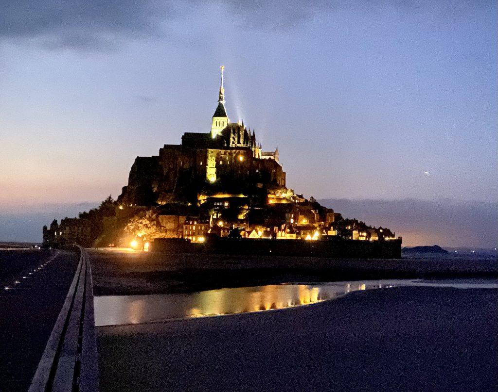 Viaggio on the road in Francia: Mont Saint Michel